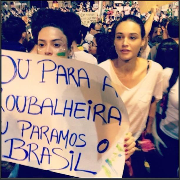 Thaila Ayala e Débora Nascimento (Foto: Reprodução/Instagram)