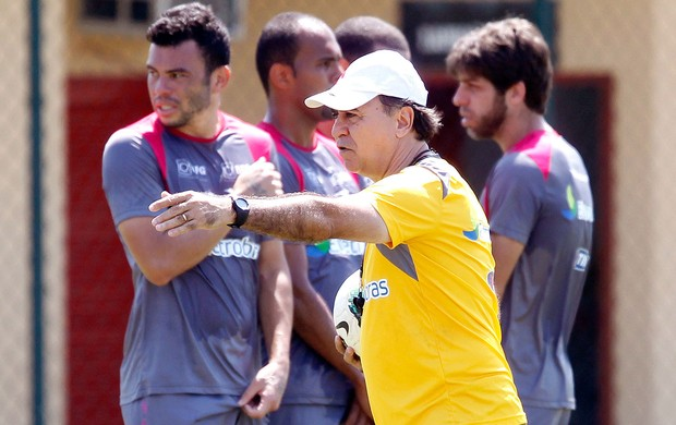 Marcelo Oliveira no treino do Vasco (Foto: Ivo Gonzalez / Agencia O Globo)