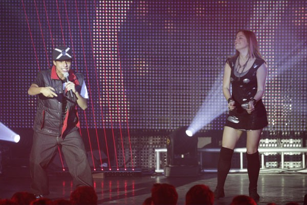 Lia no show1 (Foto: TV Globo/Malhação)