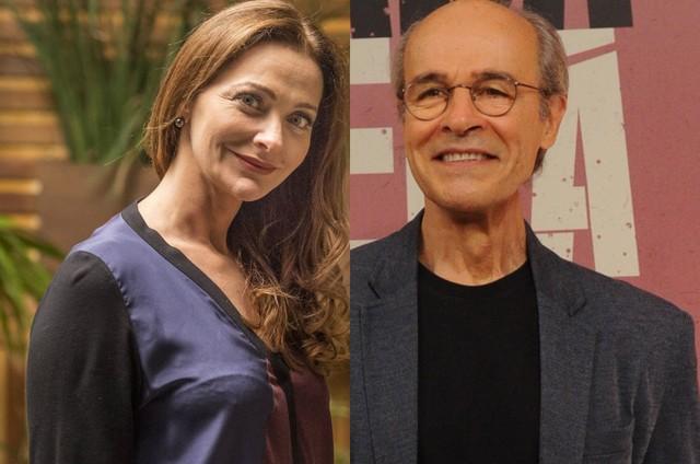 Alexandra Richter e Osmar Prado  (Foto: TV Globo)