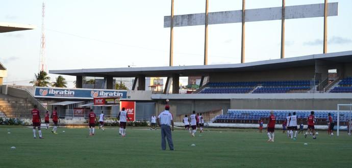 Treino CRB (Foto: Jota Rufino/GloboEsporte.com)
