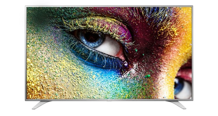 Smart TV da LG vem com tela de 64 polegadas e resolução 4K (Foto: Divulgação/LG)