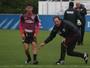 Luiz Araújo tem proposta recusada e papo com Ceni sobre futebol francês