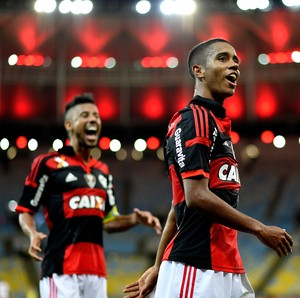 Gabriel e Leo Moura gol Flamengo (Foto: Getty Images)