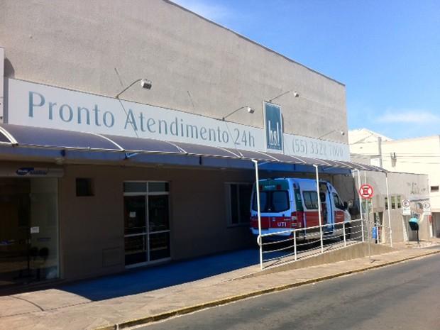 Hospital de Cruz Alta, RS (Foto: Márcio Luiz/G1)