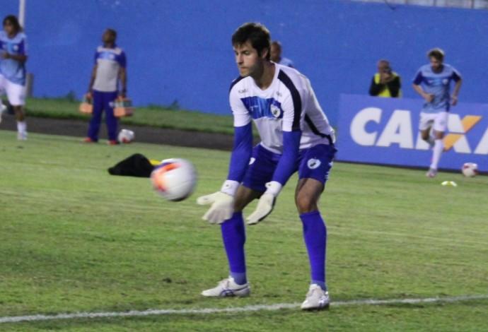 Marcelo Rangel, goleiro do Londrina (Foto: Robson Vilela/Londrina Esporte Clube)