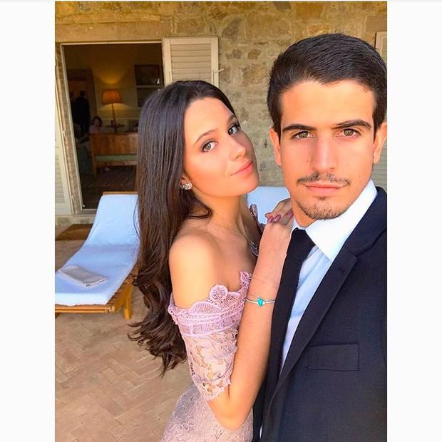 Enzo Celulari e Victoria Grendene (Foto: Reprodução/Instagram)