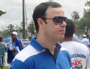 Fabiano Melo, novo diretor de Futebol do CSA (Foto: Paulo Victor Malta / Globoesporte.com)
