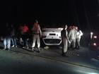 Homem morre e dois ficam feridos  (Eduander Silva/Blog do Repórter Eduander Silva)