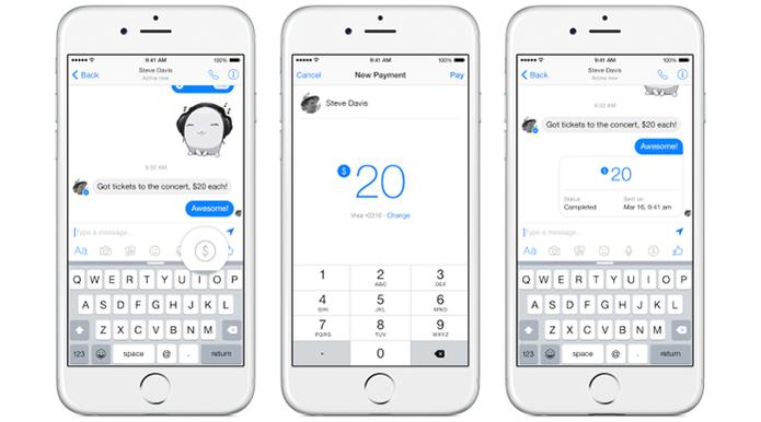 Serviço de pagamentos do Facebook Messenger é apresentado (Foto: Divulgação/Facebook)