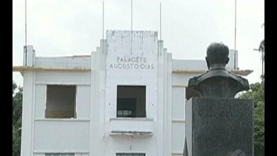Reforma do palacete Augusto Dias foi abandonada em Marabá