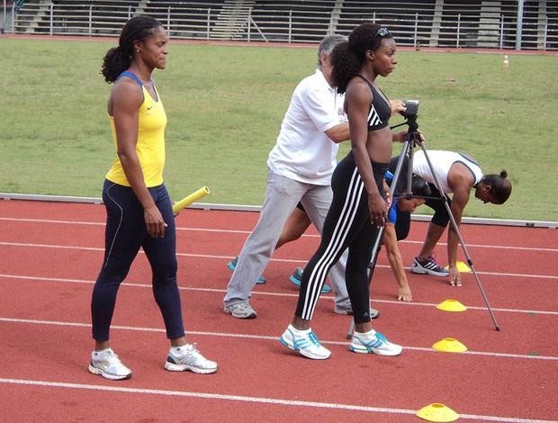 Lucimar e Rosangela, Atletismo (Foto: João Pedro Nunes / CBAt)
