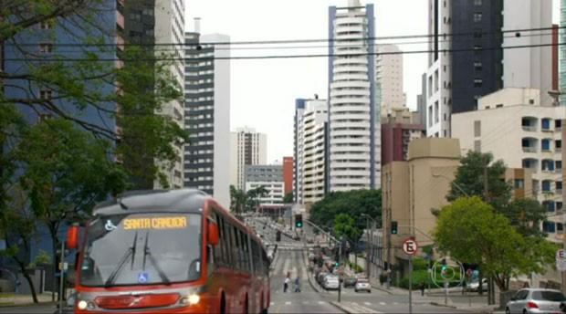 Imagens da novela mostram alguns lugares da cidade (Foto: Reprodução)