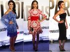 Ex-BBB Amanda Djehdian é eleita mais bem-vestida em festa de novela