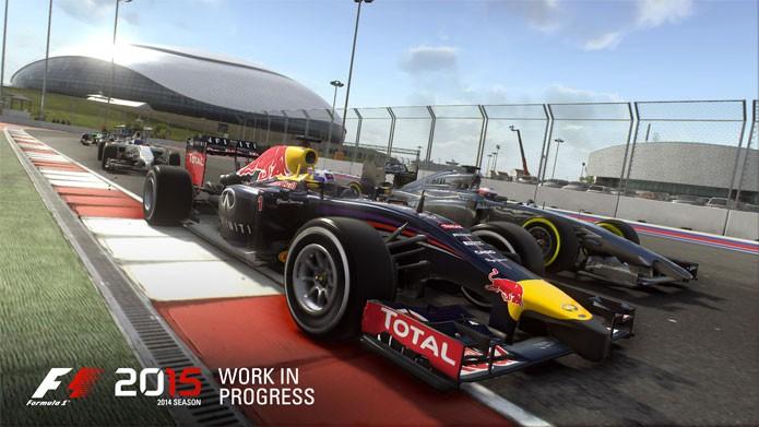 F1 2015 chega ao mercado, mas primeiro no PC (Foto: Divulgação)