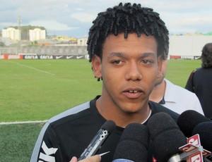 Romarinho treino Corinthians (Foto: Diego Ribeiro)