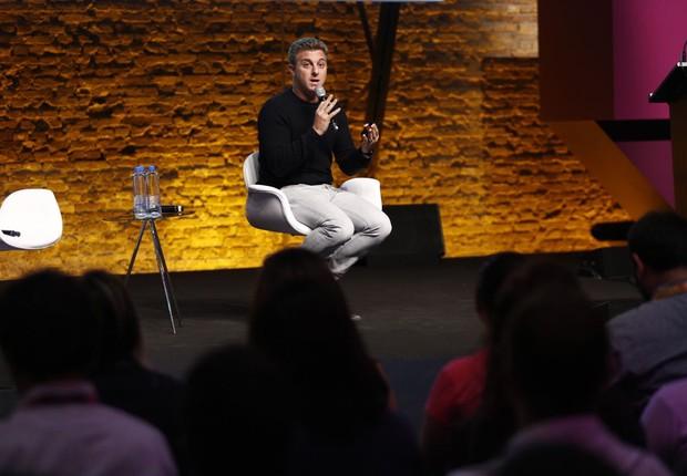 Luciano Huck durante o Festival de Cultura Empreendedora (Foto: Ricardo Cardoso)
