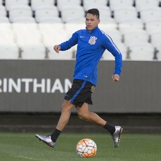 Giovanni Augusto treino Arena Corinthians (Foto: Daniel Augusto Jr/Ag; Corinthians)
