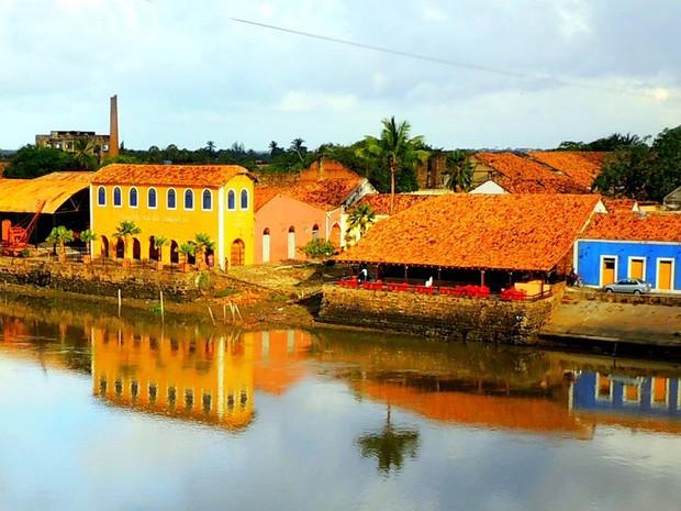 Porto das Barcas, um dos pontos mais atrativos da cidade de Parnaíba (Foto: Morais Brito)