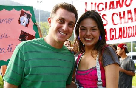 Em 'Beleza pura' (2008), o sonho de sua personagem, Rakelli, era dançar no programa de Luciano Huck Fabrício Mota/TV Globo