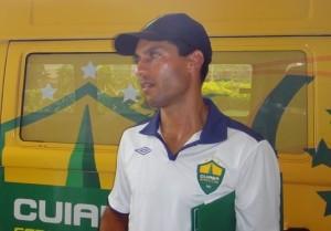 Osvaldo Júnior pode assumir o Mixto (Foto: Assessoria/Cuiabá Esporte Clube)