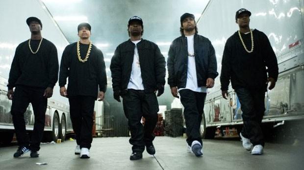 Cena de 'Straight Outta Compton' (Foto: Divulgação)
