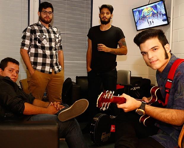Versalle foi uma bandas aprovadas na respescagem (Foto: Raphael Dias / Gshow)