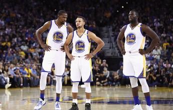 Warriors com Curry, Durant e Green; confira outros supertimes da história