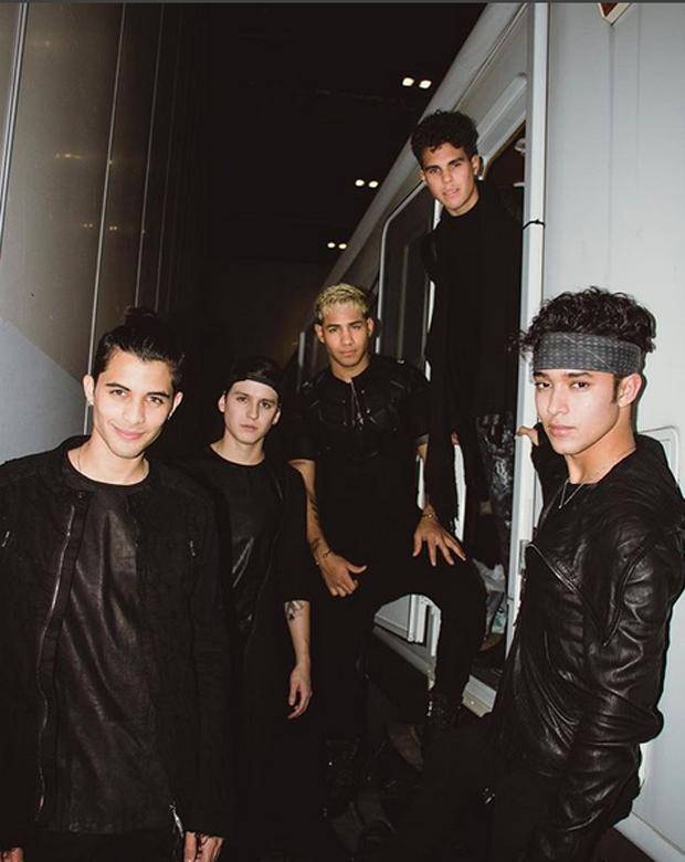 A boy band CNCO (Foto: Reprodução/Instagram)