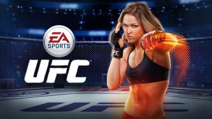 EA Sports UFC Mobile agora tem a campeã Ronda Rousey como destaque (Foto: Divulgação)
