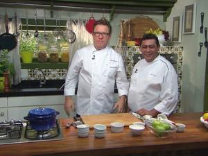 'Que Marravilha! Massas e Sobremesas' - Especial - Claude e Batista (Foto: Reproduo / GNT)