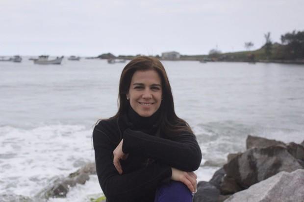 Karina Barum tem 46 anos e leva vida tranquila em Florianópolis (SC) (Foto: Divulgação / Isadora Lima )