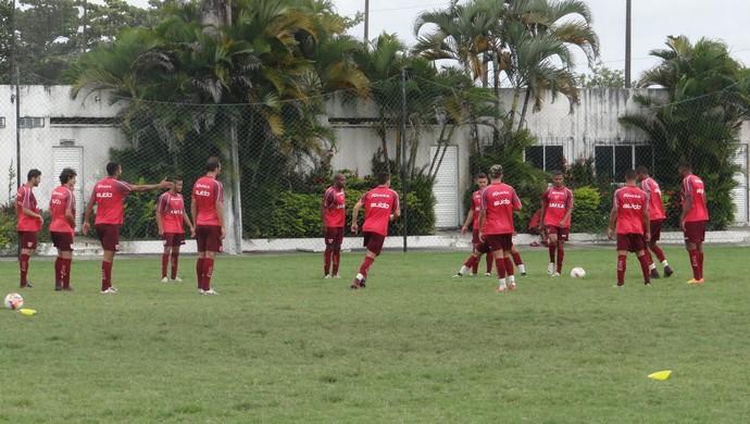CRB treino (Foto: Leonardo Freire/GloboEsporte.com)