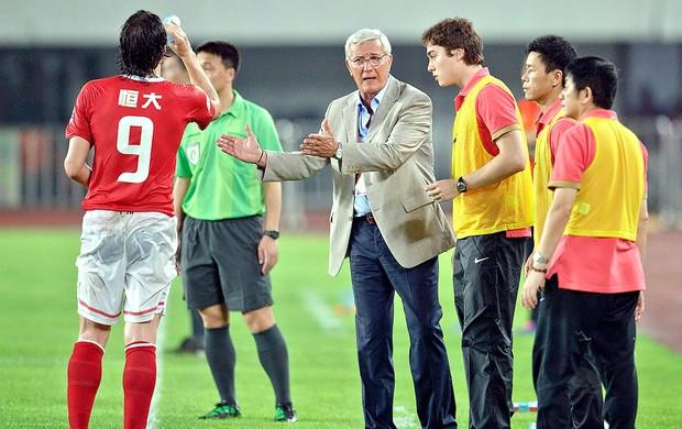 Marcelo Lippi como tecnico do  Guangzhou Evergrande (Foto: EFE)