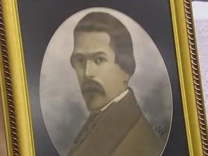 Francisco Adolfo Varnhagem nasceu em Sorocaba (Foto: Reprodução/TV TEM)