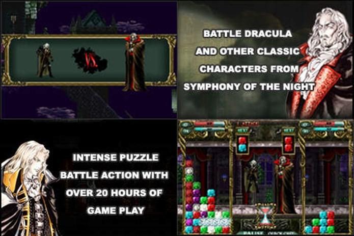 Castlevania Puzzle não era exatamente o que a comunidade gamer esperava (Foto: Divulgação)