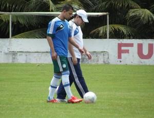 Wendel, lateral-direito do Palmeiras (Foto: Tiago Menezes)