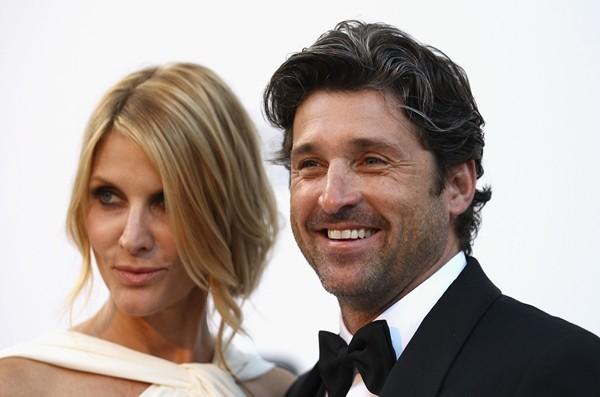 Patrick e Jillian Dempsey  (Foto: Getty Images)