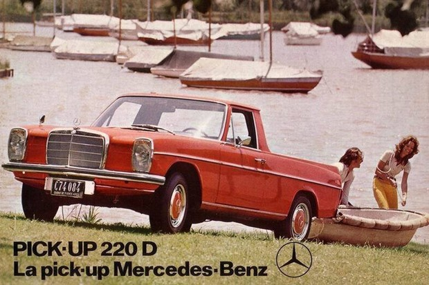 Modelo 220 D era importado em peças separadas e montado na Argentina (Foto: Divulgação)