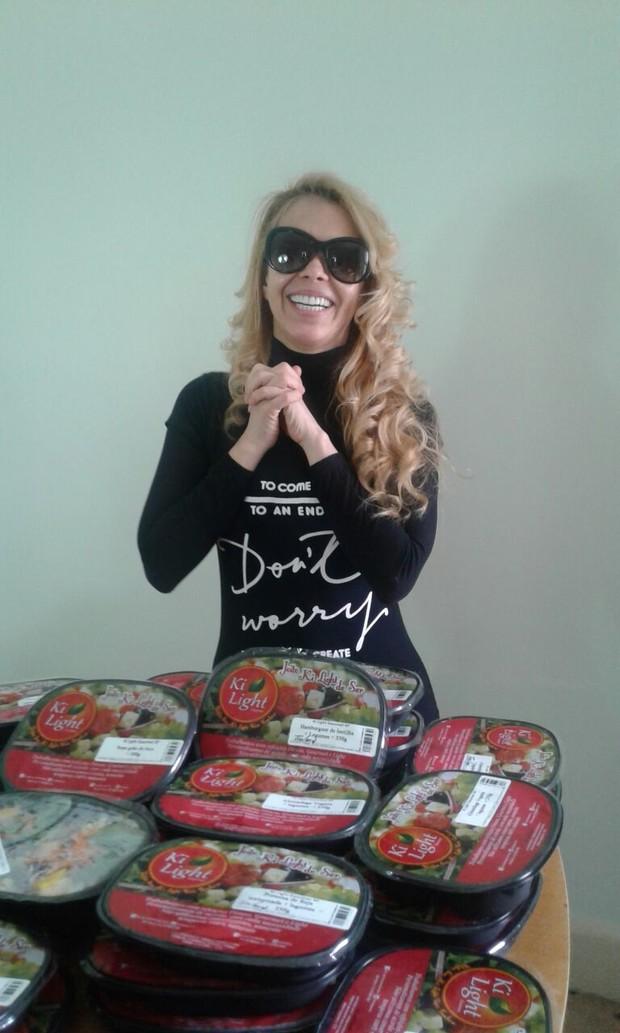 Joelma investiu em dieta 70% vegana (Foto: Divulgação/Banda Calypso)
