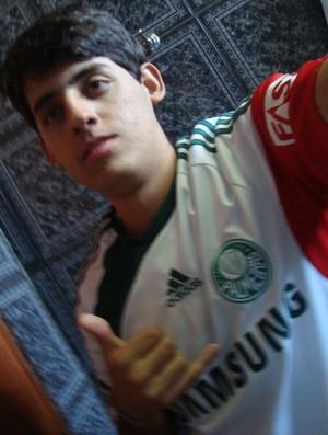 Meu Palmeiras - Gladiston Pires dos Santos Junior (Foto: Arquivo Pessoal)