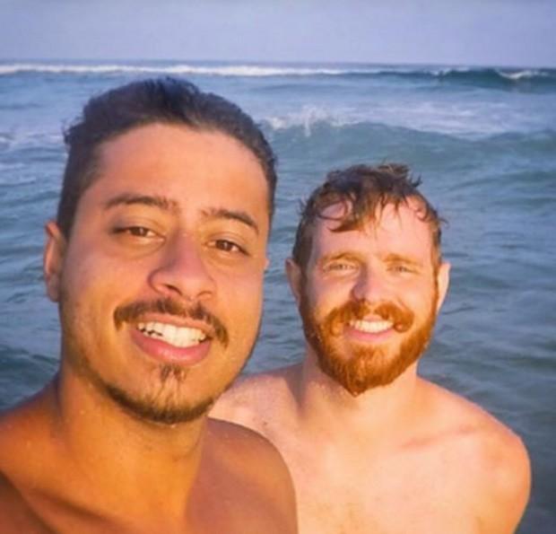 Erick Krominski e Pablo Soares (Foto: Reprodução / Instagram)