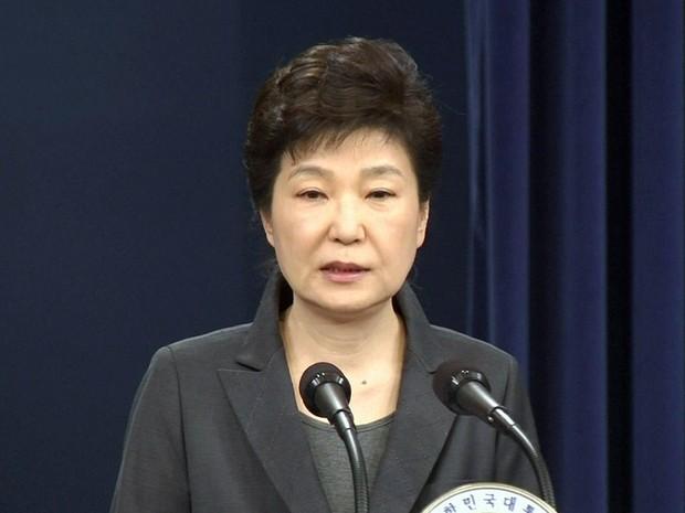 GNews - Presidente da Coreia do Sul, Park Geun-Hye (Foto: Reprodução/GloboNews)