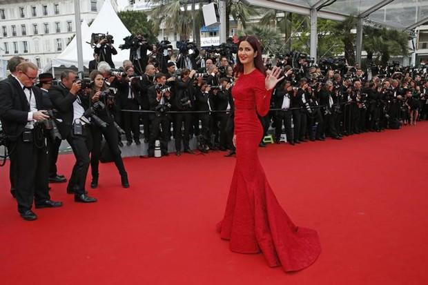 Katrina Kaif em foto tirada durante o Festival de Cinema de Cannes, na França, em maio (Foto: Benoit Tessier/ Reuters)