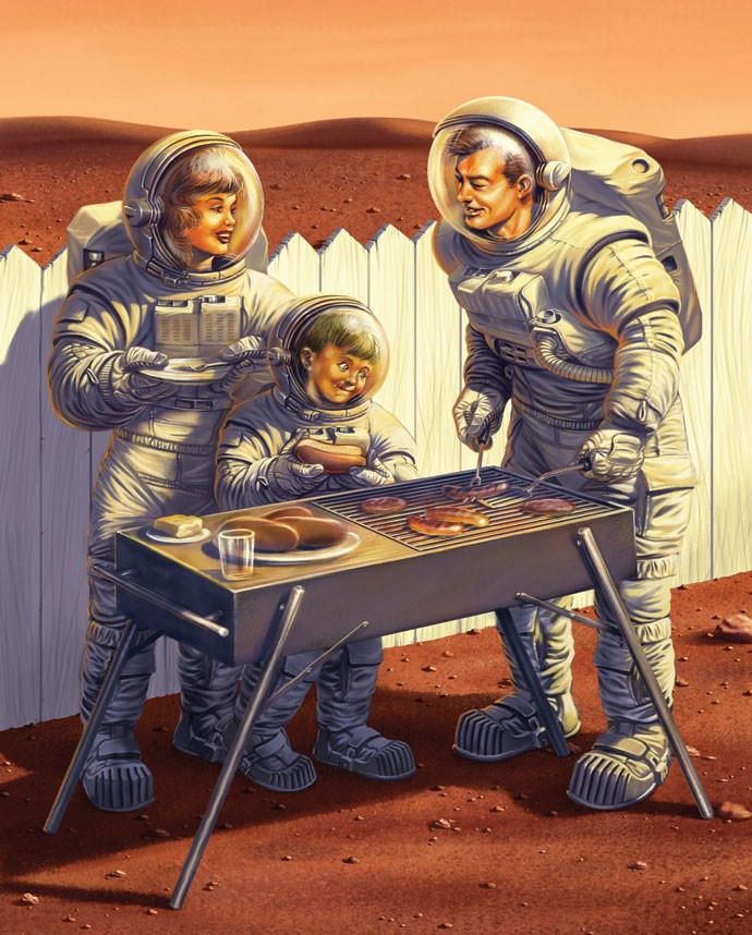 Vamos mesmo morar em Marte?