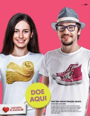 Campanha do agasalho (Foto: Divulgação/RBS TV)