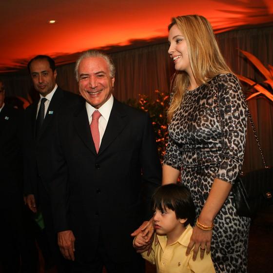 Michel e Marcela Temer. (Foto: Zanone Fraissat/Folhapress)
