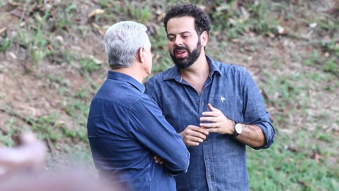 Eduardo Maluf; Daniel Nepomuceno; Atlético-MG (Foto: Bruno Cantini/CAM)