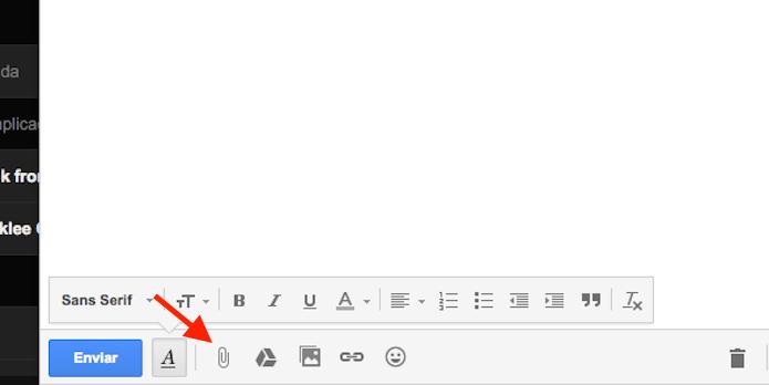 Utilizando a ferramenta de anexos do Gmail (Foto: Reprodução/Marvin Costa)