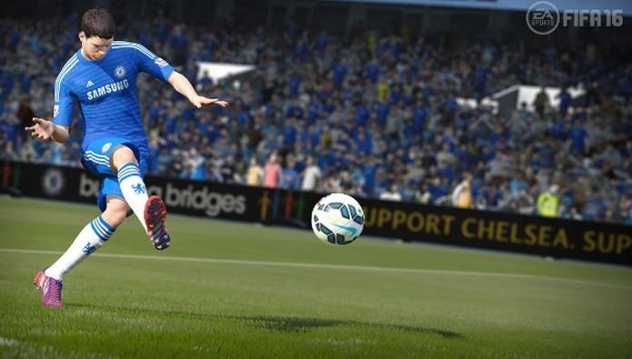 Oscar é o garoto-propagada de Fifa para o Brasil (Foto: Divulgação/EA Sports)
